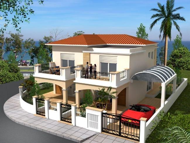 fachada de casa neoclassicas