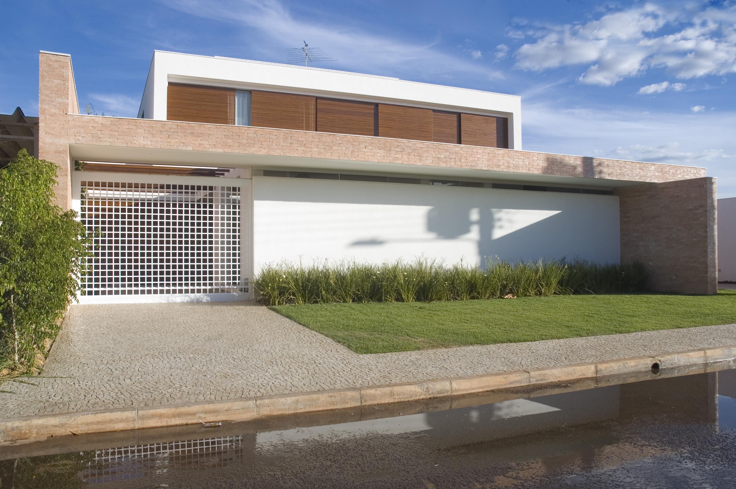 fachada moderna casa