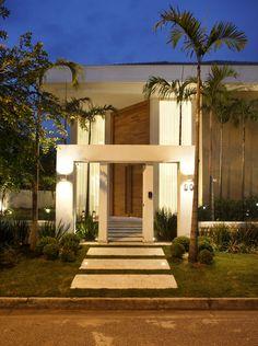 fachada sobrados modernos 1