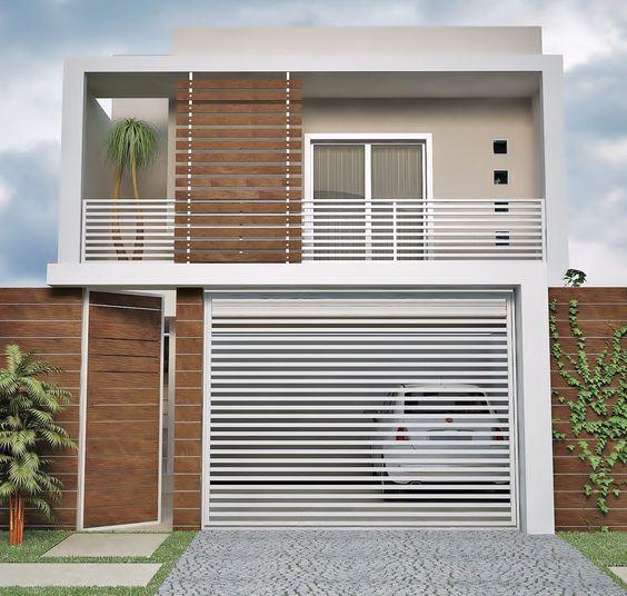 fachada sobrados modernos 5