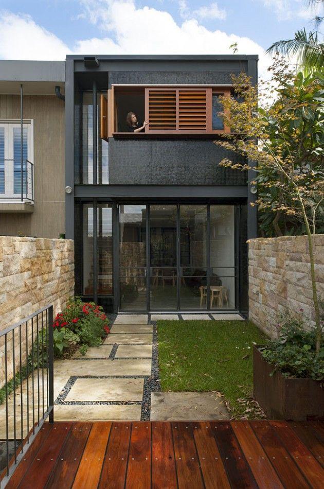 fachada sobrados modernos 8