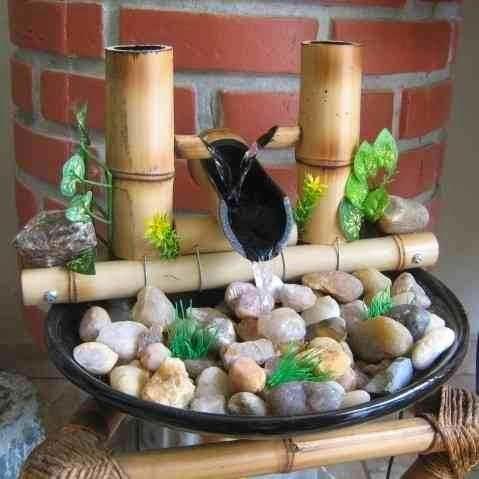 fazer fonte bambu ideias