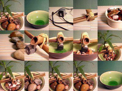fazer fonte bambu passo passo