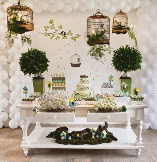 festa provencal decoracao gaiolas