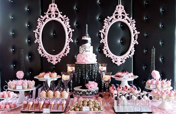 festa provencal ideias decoracao rosa