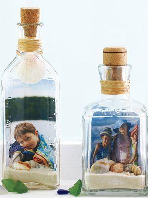 garrafa decorada dia pais criativa