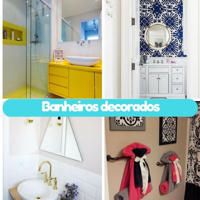ideias banheiros decoracao