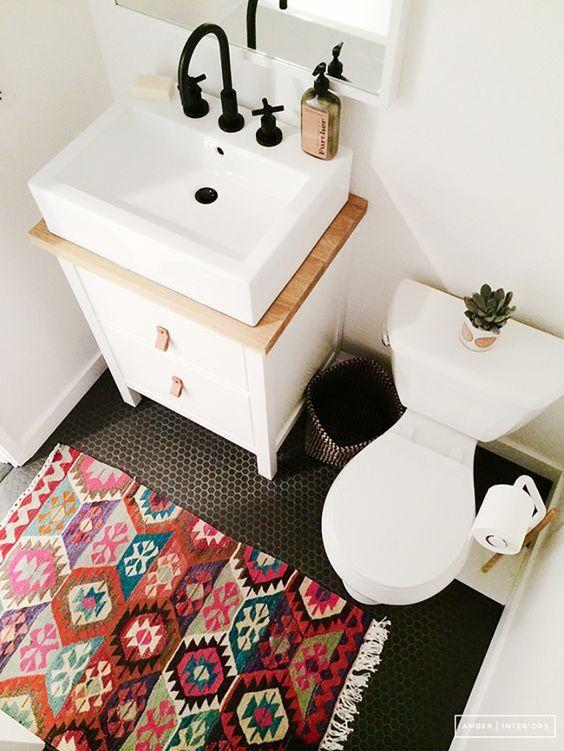 ideias baratas decorar banheiro 6