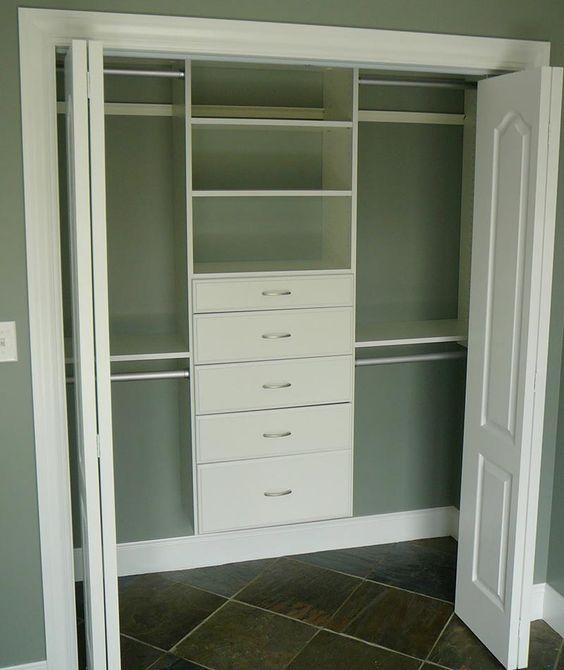 ideias closet pequeno