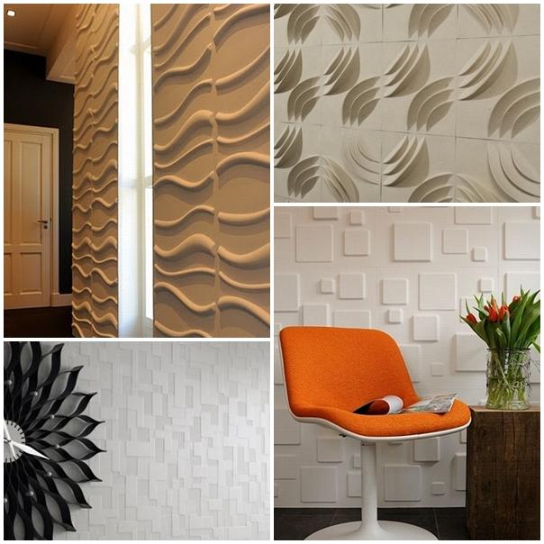ideias de papel parede 3d