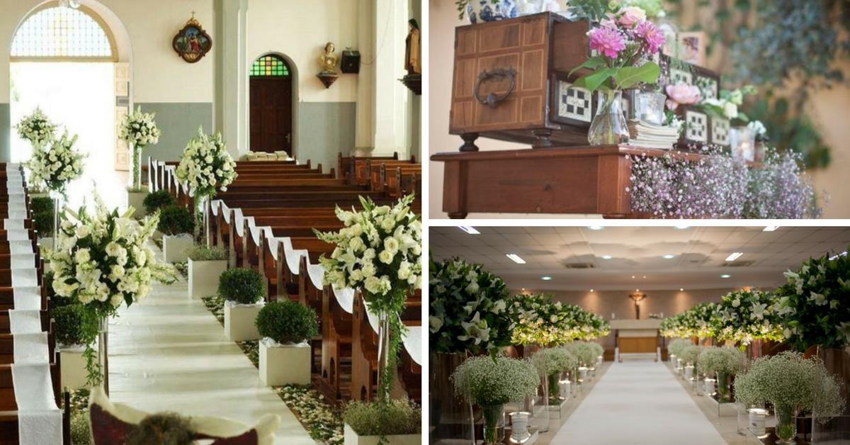 ideias decoração casamento evangelico