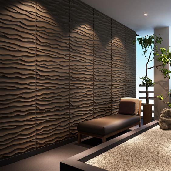 ideias decoração parede gesso 8