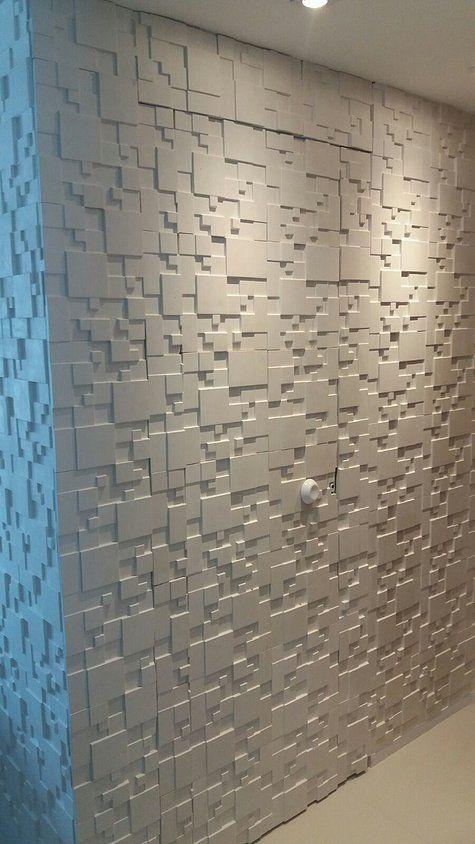 ideias decoração parede gesso 3