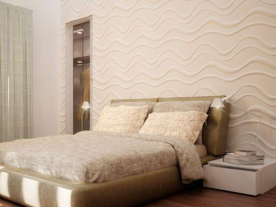 ideias decoração parede gesso 7