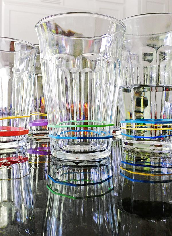 ideias distinguir copos festa 6