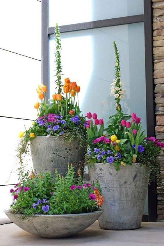 ideias fotos decoracao vasos 3