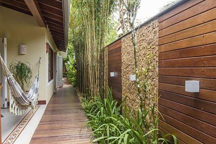 ideias muros decorados madeira