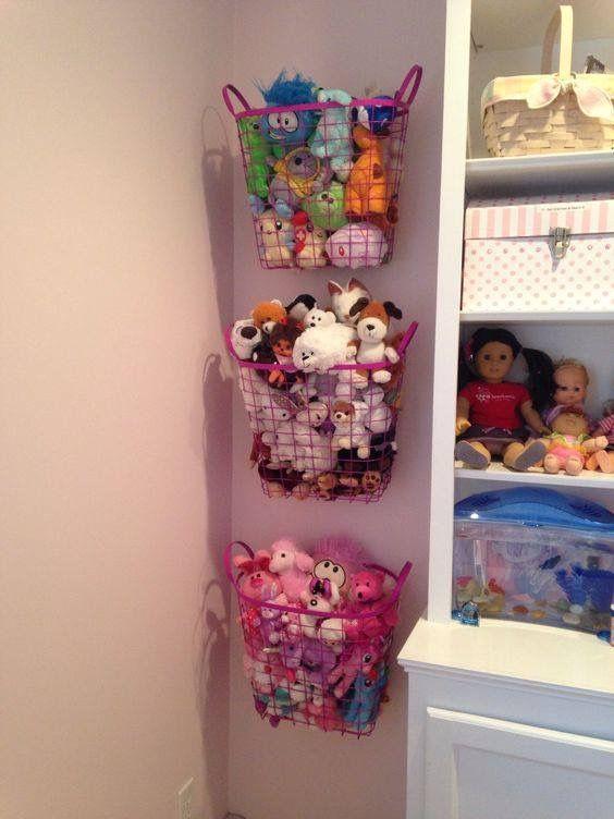 ideias organizar brinquedos
