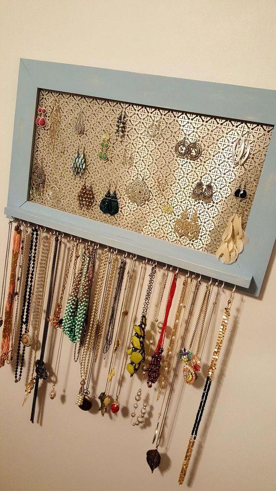ideias organizar joias bijuterias 10