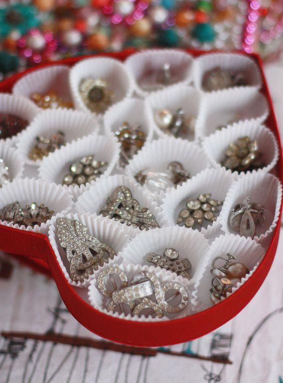 ideias organizar joias bijuterias 5