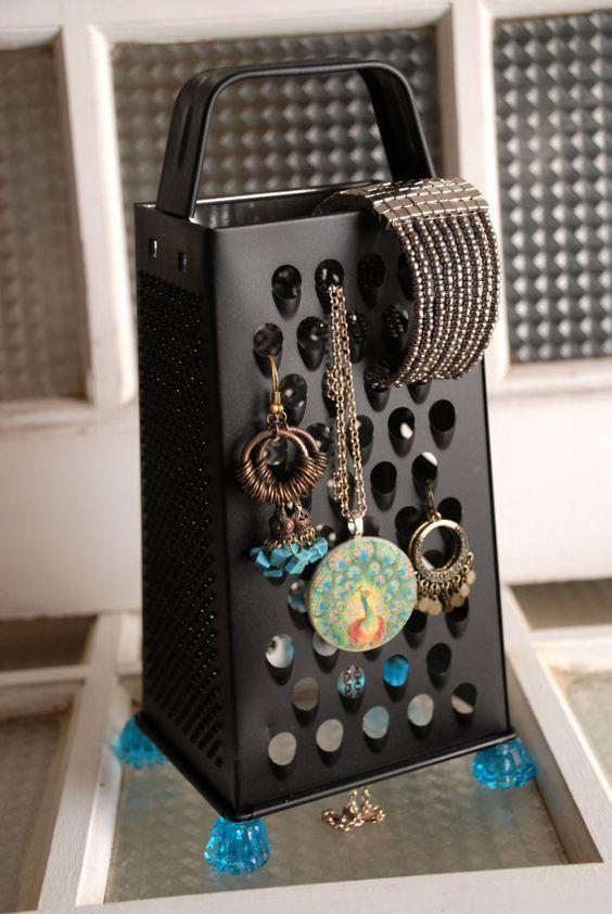 ideias organizar joias bijuterias