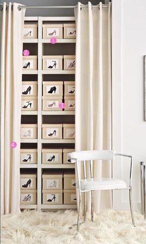 ideias para guardar sapatos 5