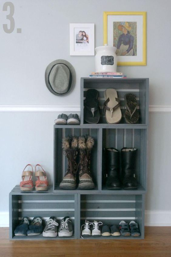 ideias para guardar sapatos 8