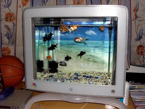 ideias para reciclar monitores ctr