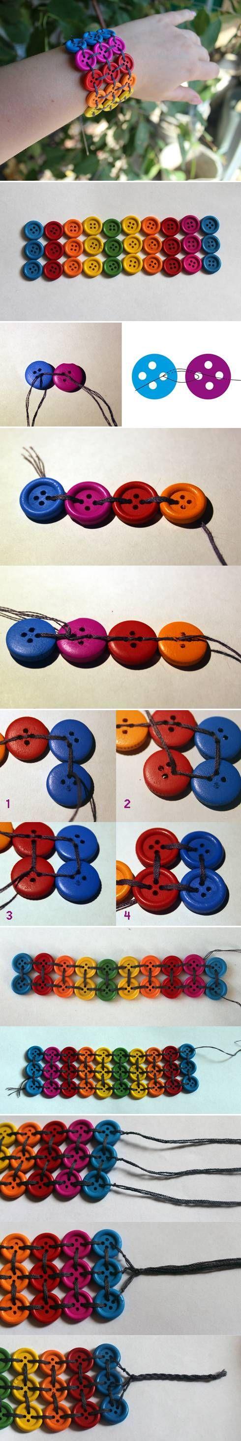 ideias para usar botoes 2