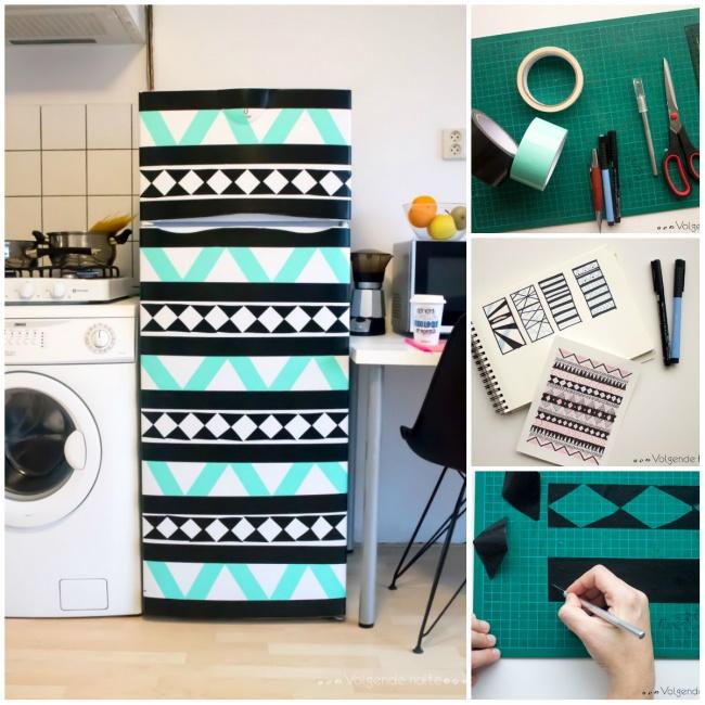 ideias personalizar geladeira 2