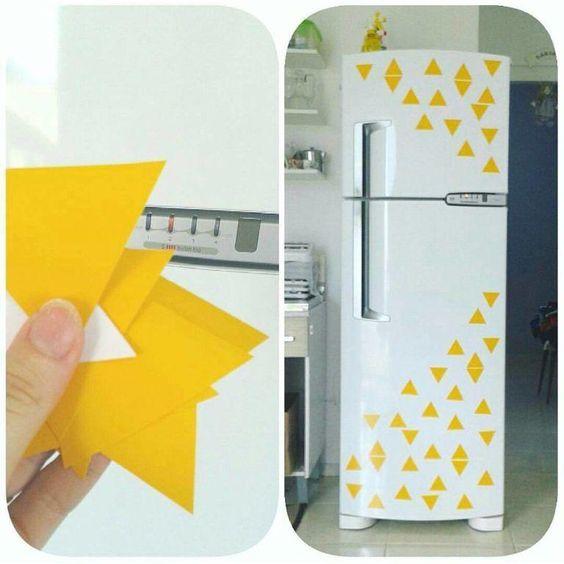 ideias personalizar geladeira 8