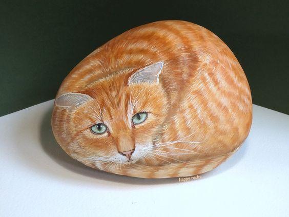 ideias pintar pedras animais 5