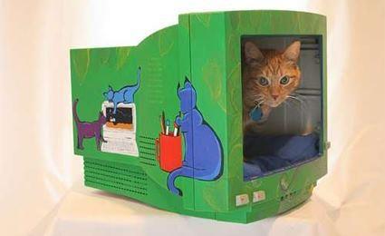 ideias reciclar monitores de computador