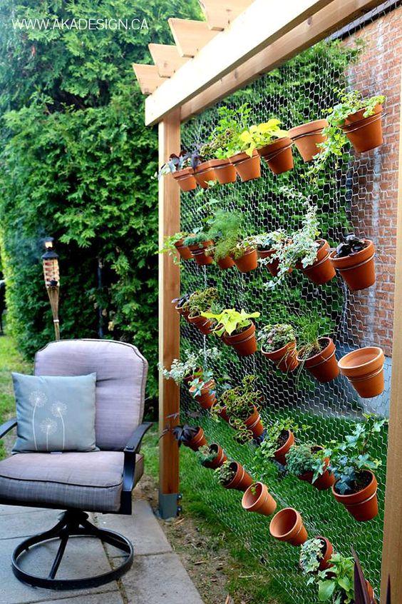 jardim vertical rede