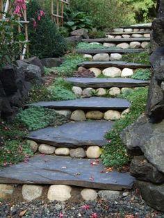 jardins decorados pedras 1