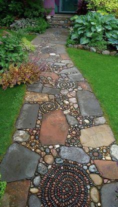 jardins decorados pedras 2