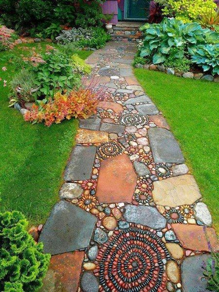 jardins decorados pedras 4 1