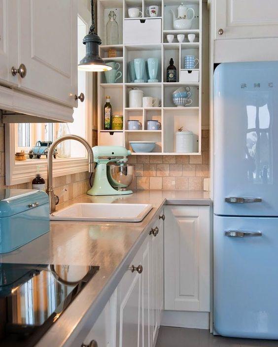 modelo cozinha vintage