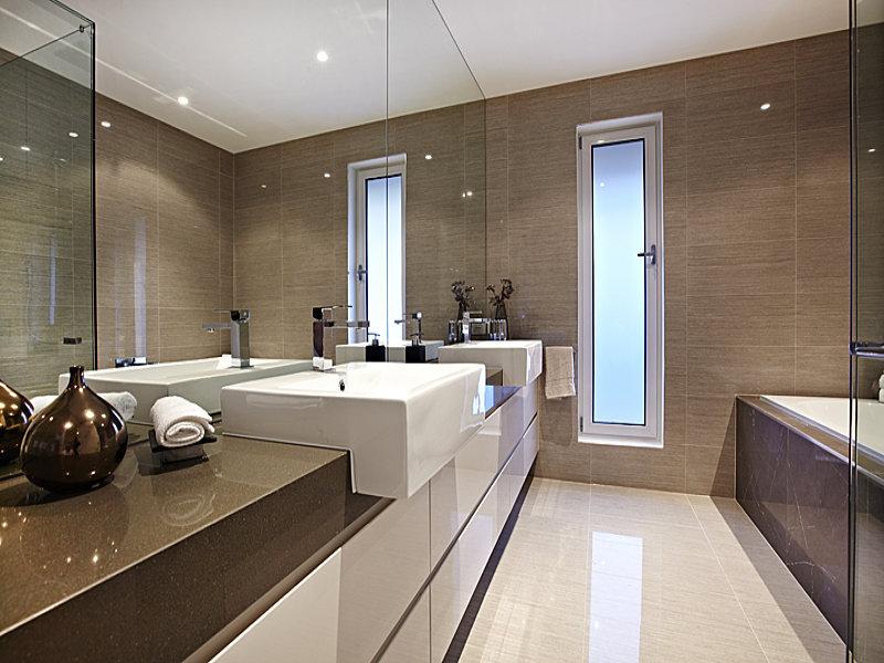 modelo de banheiro moderno