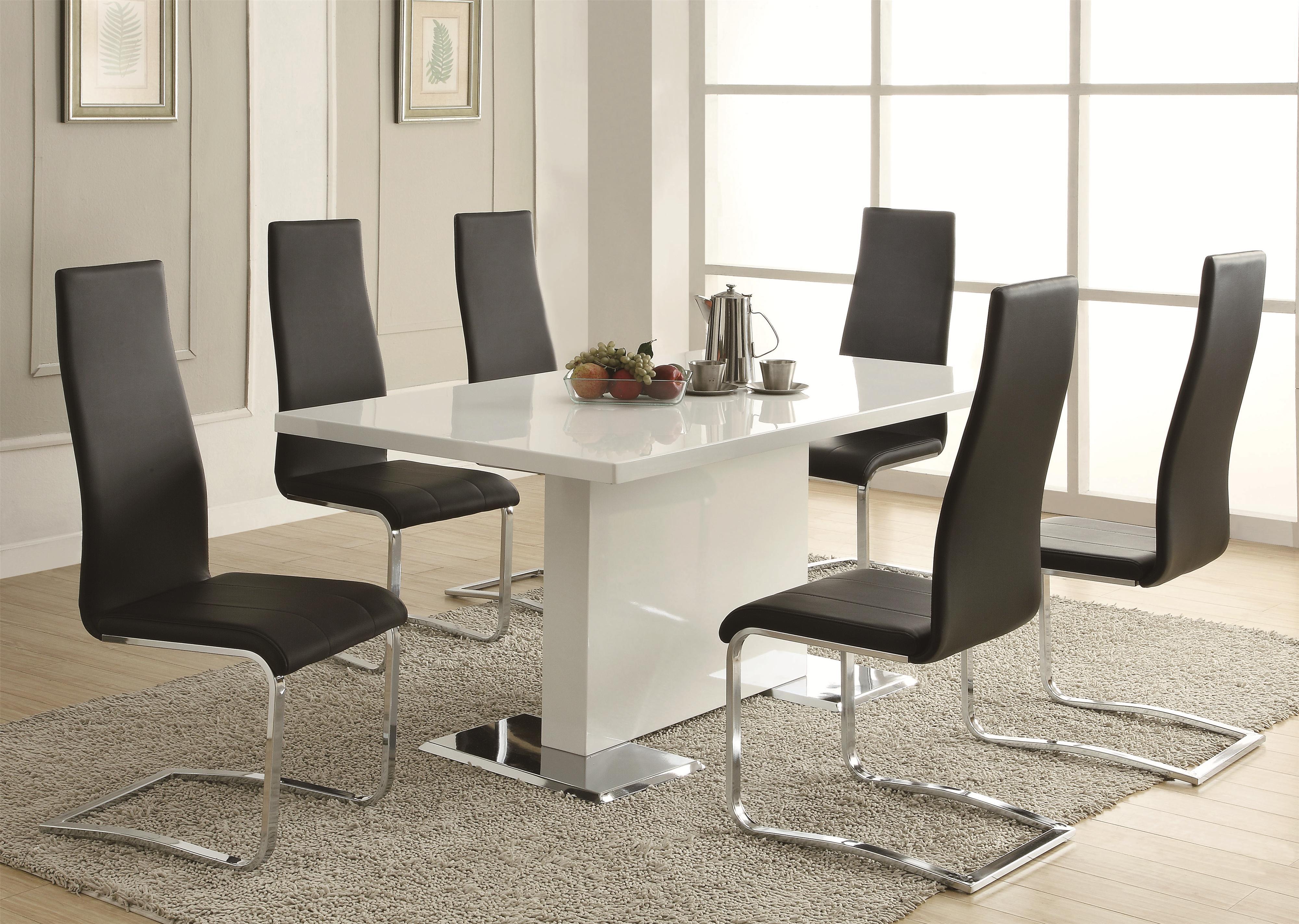 modelo sala de jantar moderna