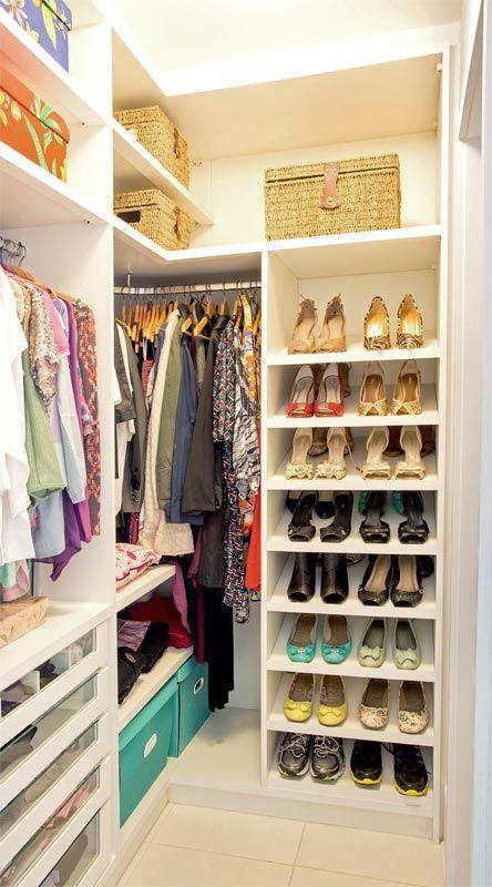 modelo sapateira closet