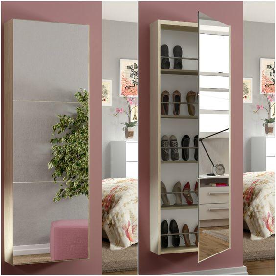 modelo sapateira espelho