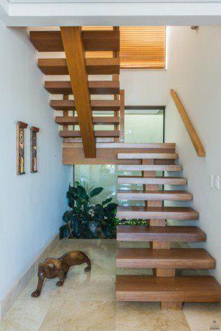 Escadas De Madeira Modernas
