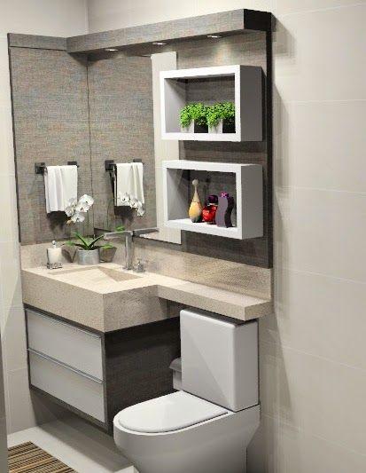 modelos gabinete banheiro