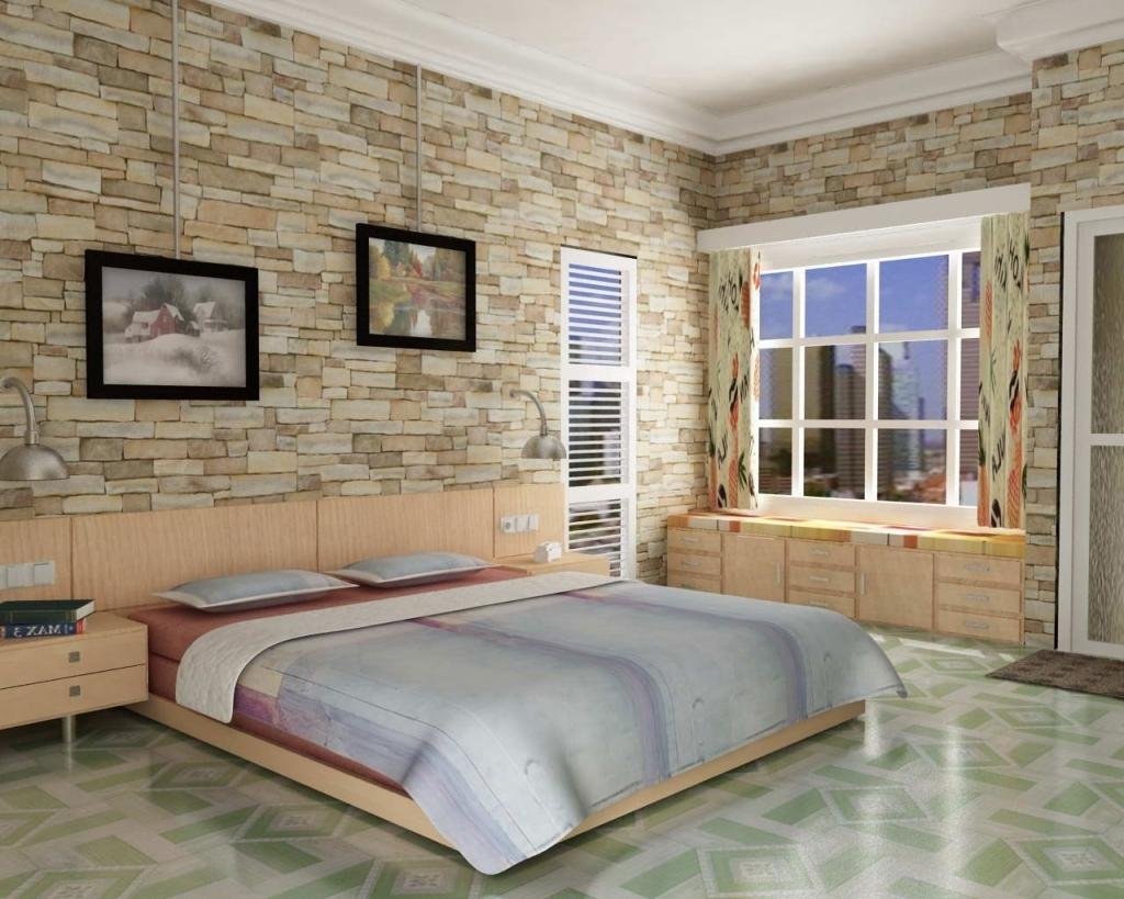 papel de parede moderno para o quarto