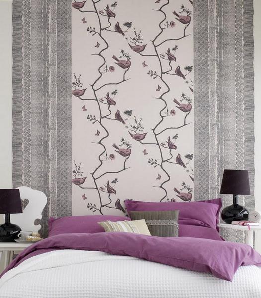 papel de parede quarto decorado