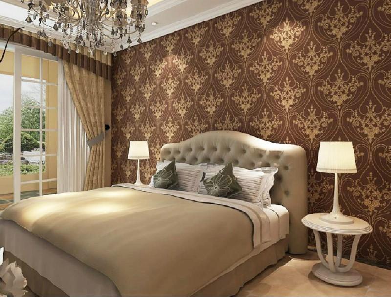 papel de parede rustico para o quarto