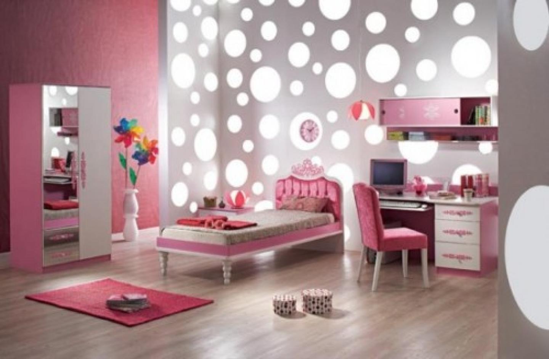 papel parede quarto feminino