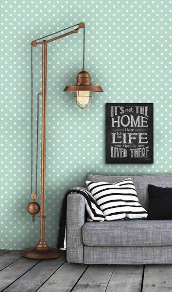 paredes decoradas tecido
