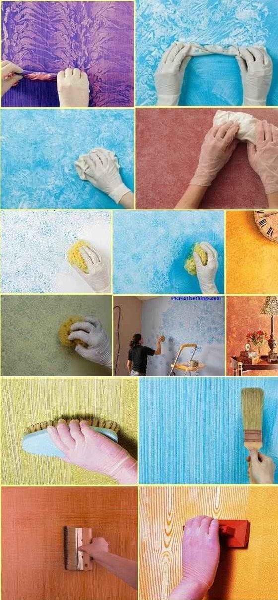 pintar paredes textura 1